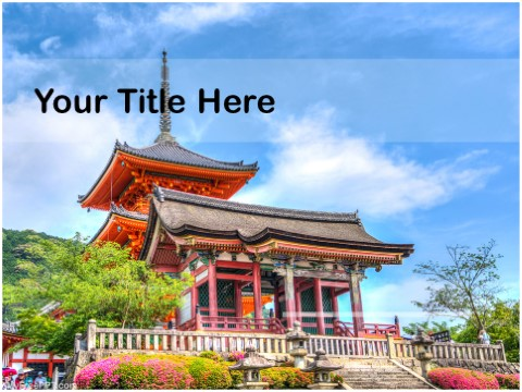 Free Kyoto PPT Template