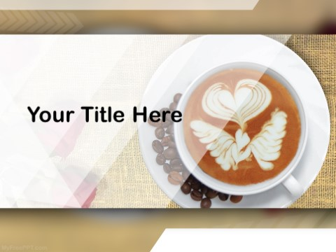 Free Latte Art PPT Template