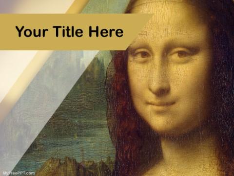 Free Leonardo Da Vinci PPT Template