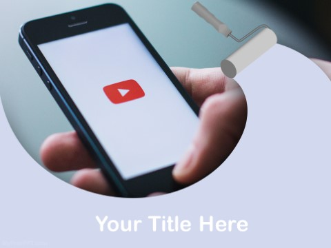 Free Mobile Videos PPT Template