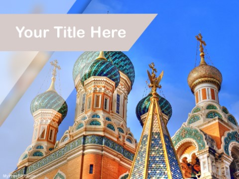 Free Moscow Patriarchate PPT Template
