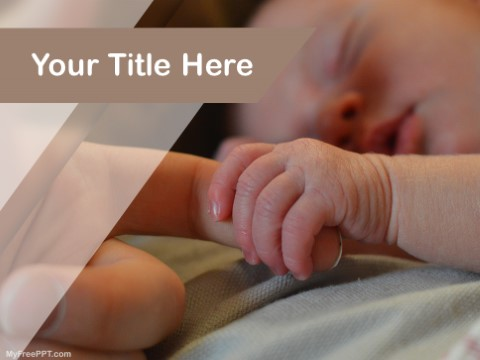 Free Newborn Photography PPT Template