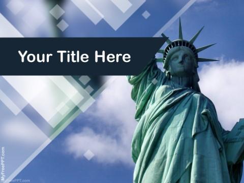 Free Newyork Usa PPT Template