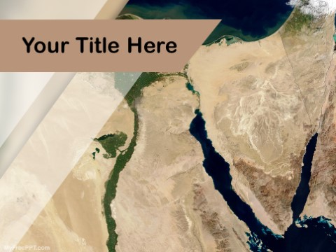 Free Nile River PPT Template