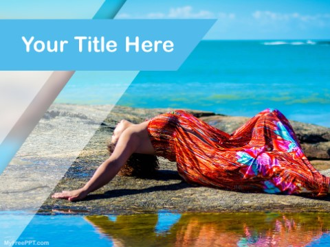Free Outdoor Modeling PPT Template