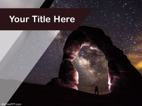 Free Outer Space PPT Template