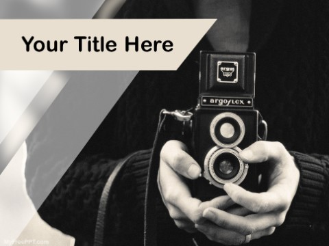 Free People Photography PPT Template