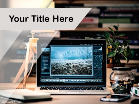 Free Photo Editing PPT Template
