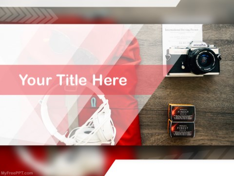 Free Product Photography PPT Template