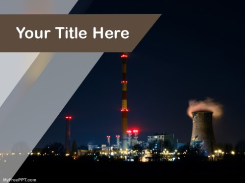 Free Production Factory PPT Template