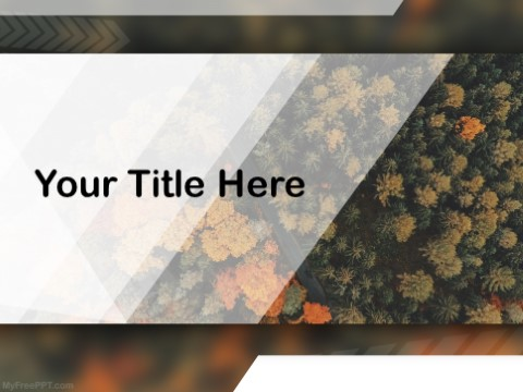 Free Protect The Forest PPT Template