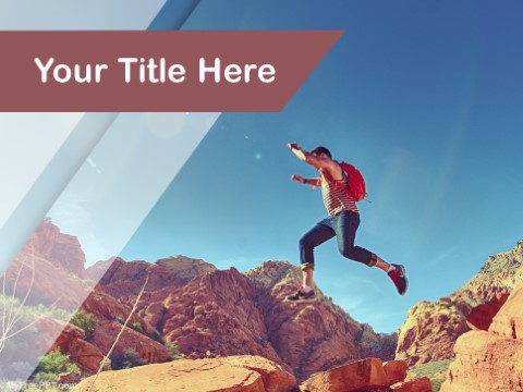 Free rock climbing ppt template download free powerpoint ppt free rock climbing ppt template toneelgroepblik Images