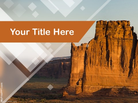 Free Sandstone PPT Template