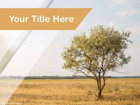 Free Savanna Africa PPT Template