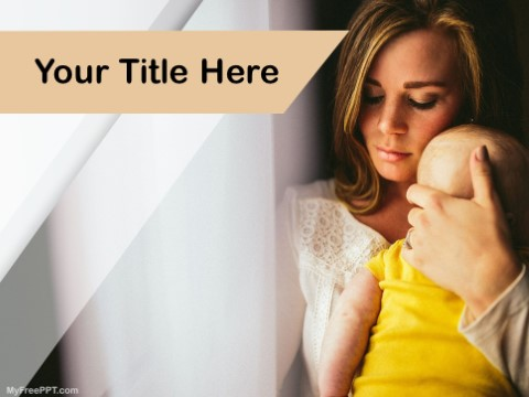 Free Single Mother PPT Template
