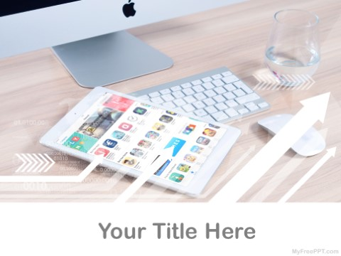 Free Tablet Apps PPT Template
