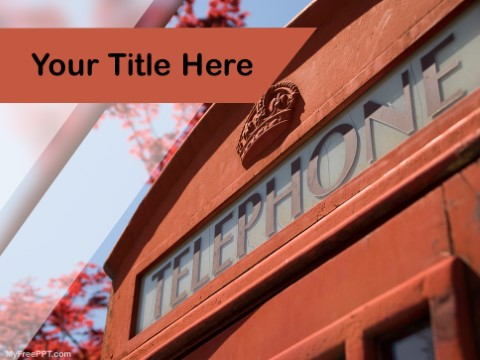 Free Telephone PPT Template