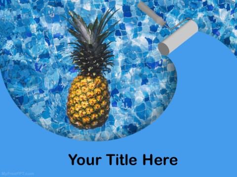 Free Tropical PPT Template