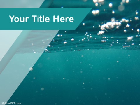 Free Under The Oceon PPT Template