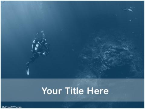 Free Underwater Video Making PPT Templat
