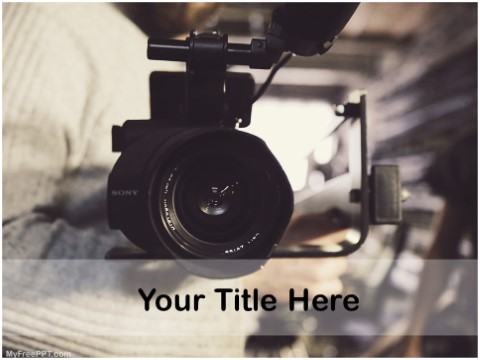 Free Video Making PPT Template