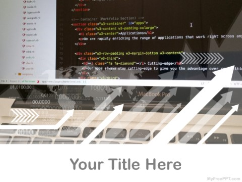 Free Website Development PPT Template