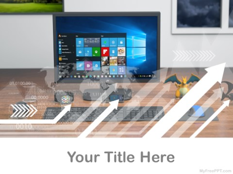 Free Windows Pc PPT Template