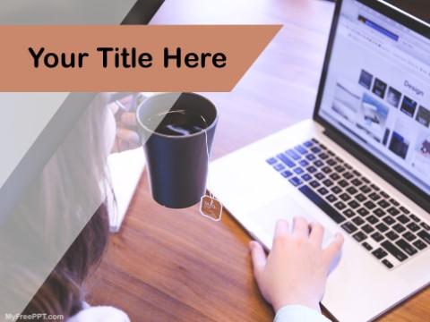 Free Work From Home PPT Template
