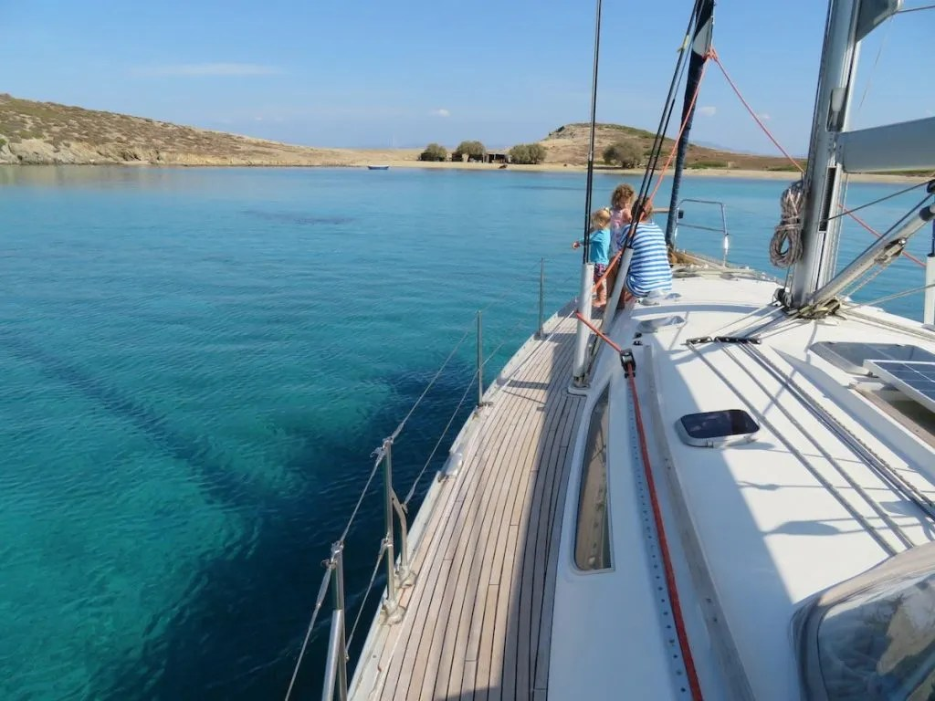 Sailing Greece - 14 day itinerary