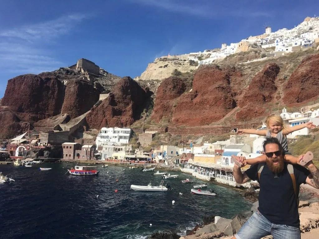 Ammoudi in Santorini