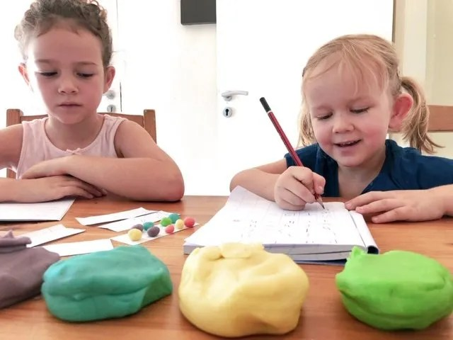 Best cooked play-dough recipe, learning with play-dough