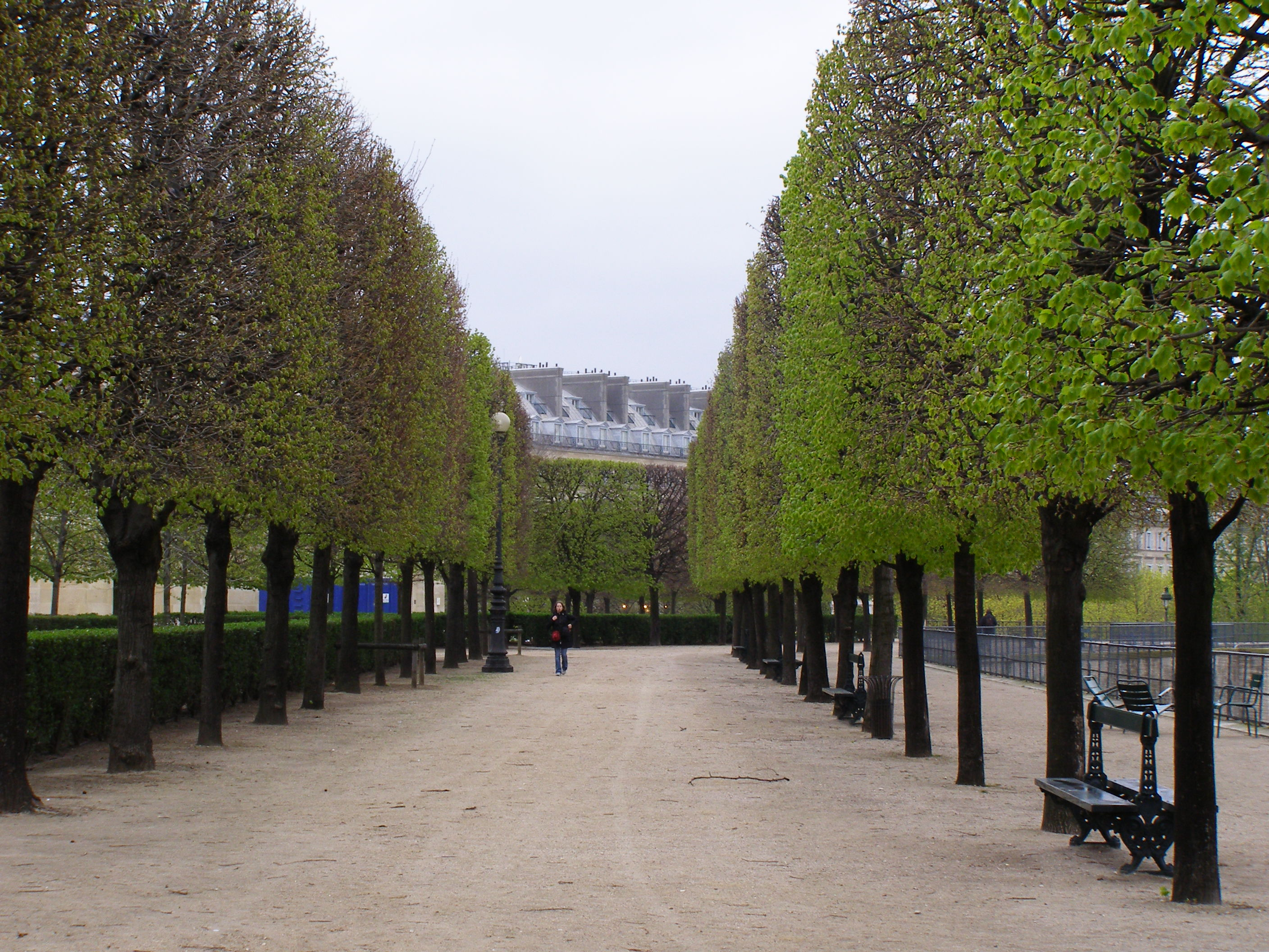 Awakening to the visual pleasures of paris my french for Jardin in french