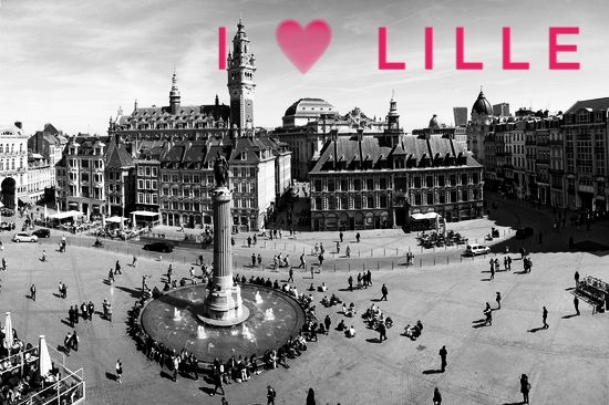 Lille; the junction of Europe