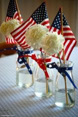 4th july-Flowers & Flags