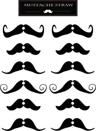Mustache-Straw