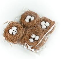 Stork-Eggs on table