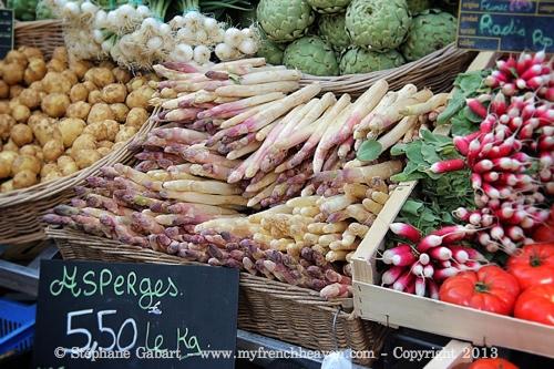 Asparagus everywhere!