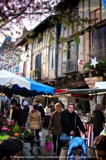 Market in Ste Foy