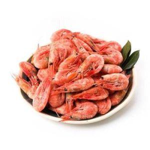 Креветки Северные дикие варёно-мороженые 60/80 100 г | Фермерские продукты  ФРЭШ