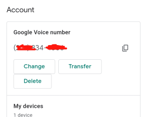 How to create google voice number