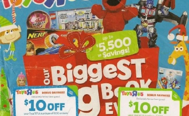Toys R Us Big Book My Frugal Adventures