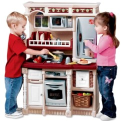 Step 2 Play Kitchens Kitchen Stainless Steel Sinks Step2 Sale At Walmart Com My Frugal Adventures Has A Pretty Good On Right Now For The Littles This Custom Lifestyle Is Marked Down To 65 And It Looks Like