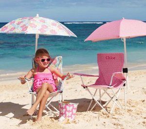 folding chair with umbrella kid chairs pottery barn kids 40 off and my frugal here is a really cute little