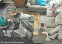 Fun Indoor Camping Party Ideas - My Frugal Adventures