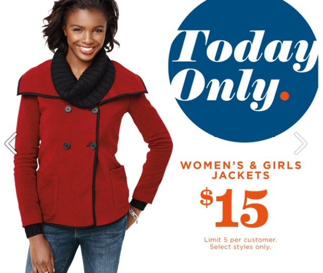 Coat Sale Today Only Old Navy