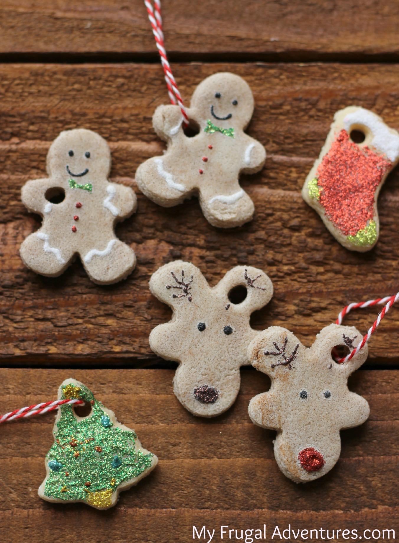 Christmas Ornaments Salt Dough