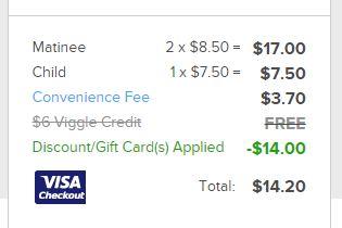 fandango coupon code 14