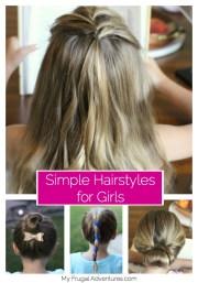 5 simple hairstyles girls