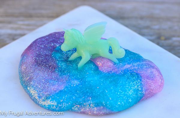 "No Borax Unicorn Slime Tutorial | My Frugal Adventures ""Fun and vibrant unicorn slime recipe. Perfect children's craft- safe, no borax."""