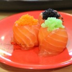Sushi Tei Gandaria City Mall : Tanshoku Hana Salmon love it!